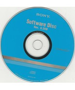 Software Disc CD-Rom Disc Rev. 6.35W by Sony for WINDOWS ~ 2005 - $20.65