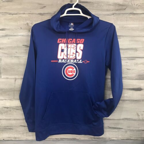Primary image for Chicago Cubs Baseball MLB Genuine Merchandise Hoodie Pullover Sweatshirt Size M