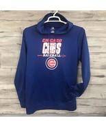Chicago Cubs Baseball MLB Genuine Merchandise Hoodie Pullover Sweatshirt Size M - $13.81