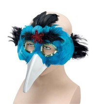 Uccello Piume Maschera & Beak.turquoise,Masquerade Maschera,Costume - $4.86 CAD