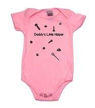 Daddy's Little Helper Girl Baby Bodysuit, 6-12 mo, Pink - $23.99