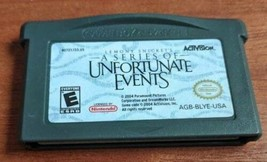 Lemony Snicket's A Series of Unfortunate Events (Nintendo Game Boy Advance - $10.62 CAD