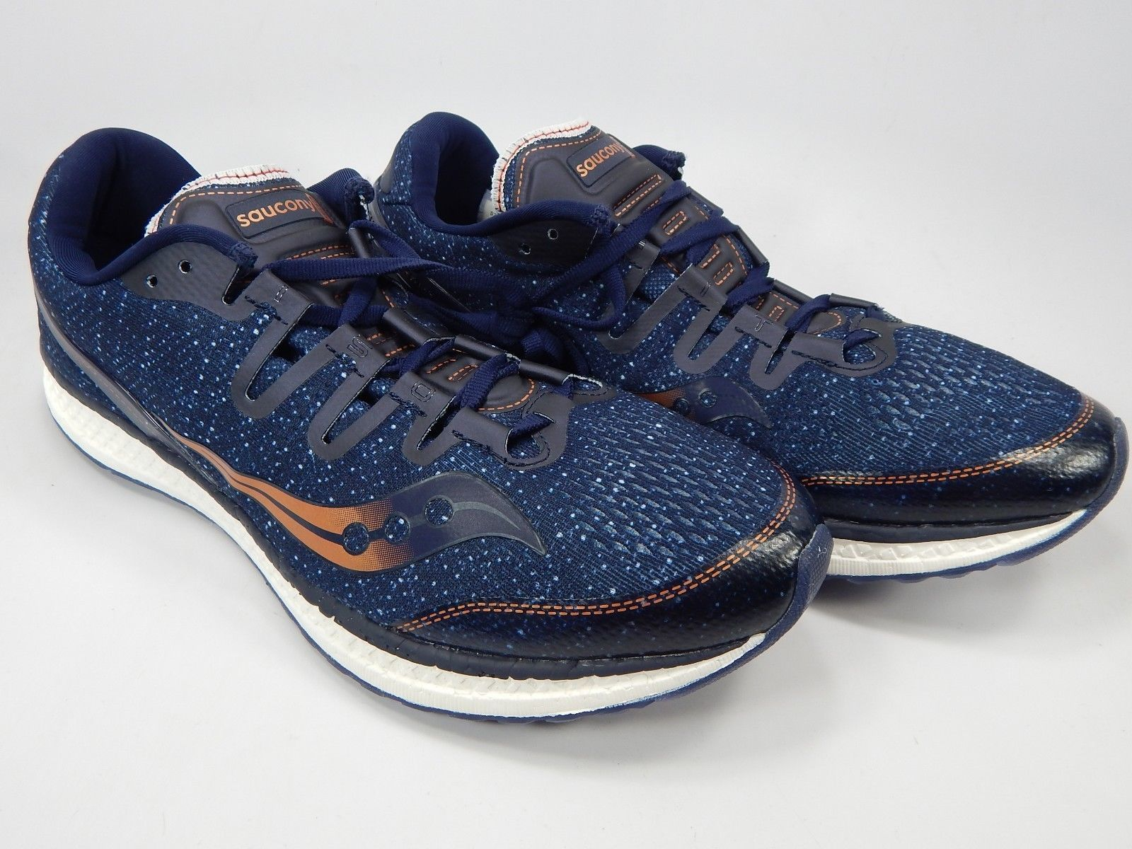 Saucony Freedom ISO Size US 11.5 M (D) EU 46 Men's Running Shoes Blue S20355-30