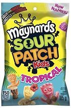 Maynards Sour Patch kids Tropical 10 bags 185g each Canadian Made  - $69.99