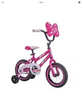 Little Girls Bike Minnie Mouse Bicycle Disney 5 Year Old 12 Inch Huffy P... - $118.79