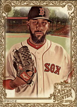 2019 Topps Allen and Ginter Gold Hot Box #101 David Price Red Sox - $2.95