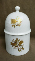 ROSENTHAL China - ROMANCE Pattern (Gold Tulips) - CANDY JAR - $89.95