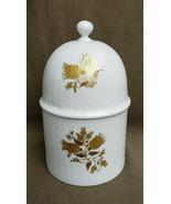 ROSENTHAL China - ROMANCE Pattern (Gold Tulips) - CANDY JAR - $89.95