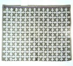 "Threshold™ Hand Towel Tile Gray & Purple 16"" x 27"" 40.6cm x 68.5cm Kitch... - $9.89"