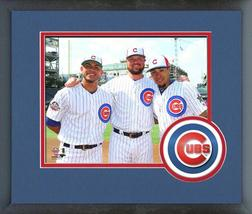 Willson Contreras, Jon Lester, & Javier Baez 2018 MLB All-Star Game Fram... - $42.95