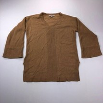 Ann Taylor LOFT Women's Small Brown 3/4 Sleeve Cardigan Sweater - $24.73