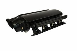 LS LSX LS1 LS2 LS6 Fabricated Intake Manifold w/ Drive By Wire Throttle Body BK image 7