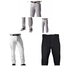 Baseball Under Armour Pant Pro Style Open Bottom Gray White Black Size S M L 3XL - $22.99