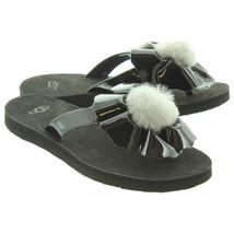 Ugg Femmes Coquelicot Sandales Noires - $74.96