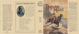 Burroughs, Edgar Rice. The Moon Doncella Facsímil Dust Cubierta 1º Grosset - $22.61