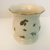 "Lenox Williamsburg Boxwood and Pine Votive Candle Holder 3"" Tall - $13.30"