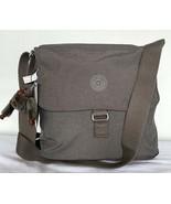 KIPLING COLBY Shoulder Crossbody Bag Women's Handbag Carbon Grey Tonal H... - $98.01
