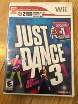 Just Dance 3 (Nintendo Wii, 2011) Game Used Target Exclusive Edition  - $8.79