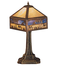 "19.5"" Wide Camel Mission Accent Lamp - $1,428.00"