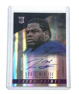 2014 Panini Extra Points Prestige NFL Football Autograph Card by Louis N... - $7.68