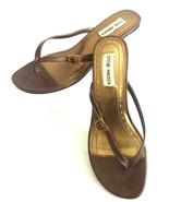 Steve Madden Womens 6.5M  Kitten Heel Slippers - $14.26