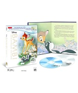 Disney Bambi Anniversary Edition (Blu-ray + DVD) 32-Page Digibook &  Lit... - $24.95