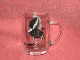 WALT DISNEY Tim Burton Frankenweenie Glass Mug. BRAND NEW. - $16.33