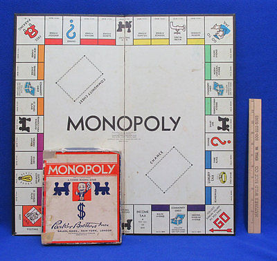 Vintage Monopoly Set Board By Parker Bros And 50 Similar Items