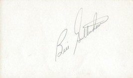 Bill Gullickson Signed 3x5 Index Card JSA Expos Yankees - $14.89