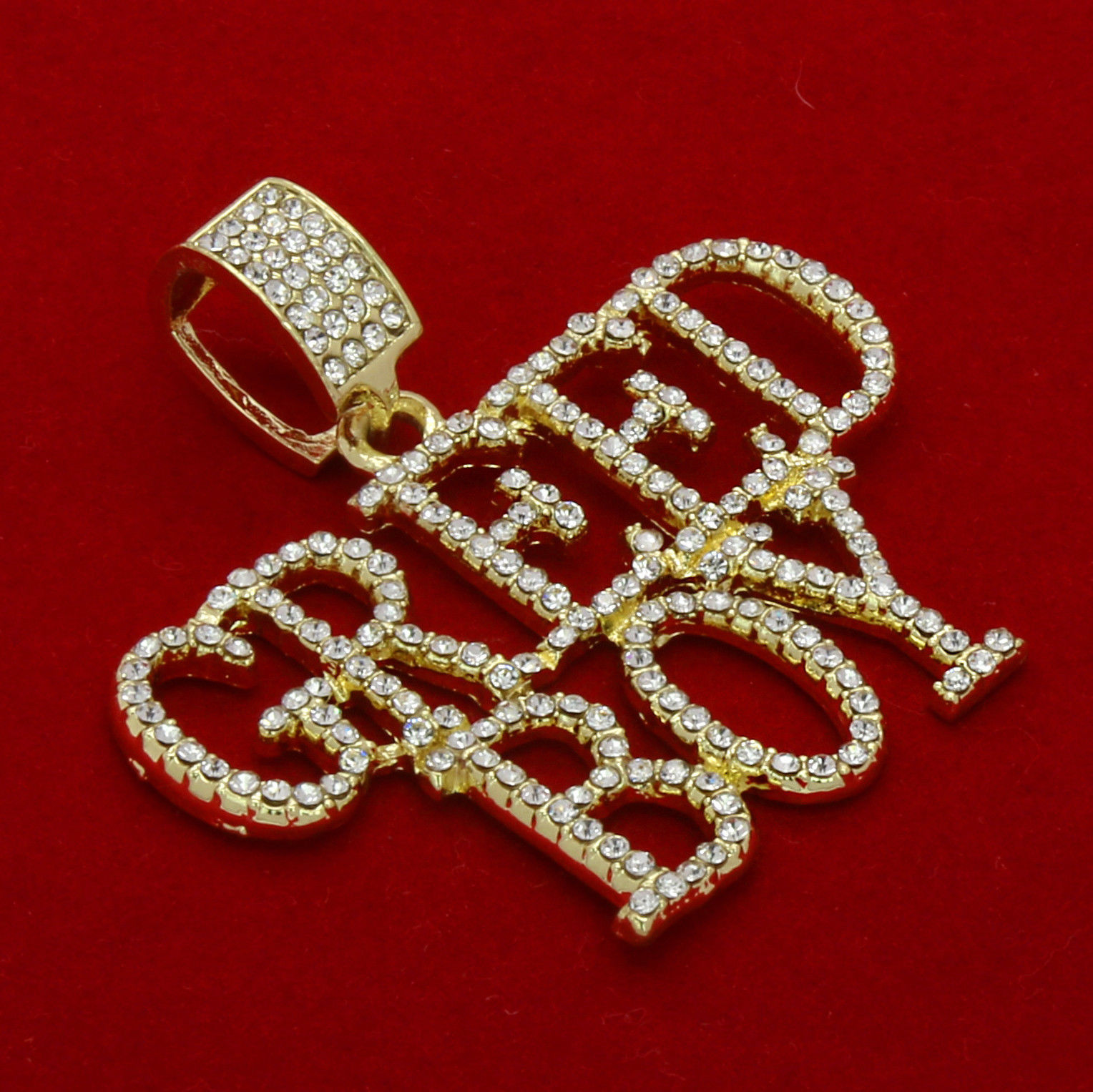 925 sterling silver greed boy pendant necklace with rop