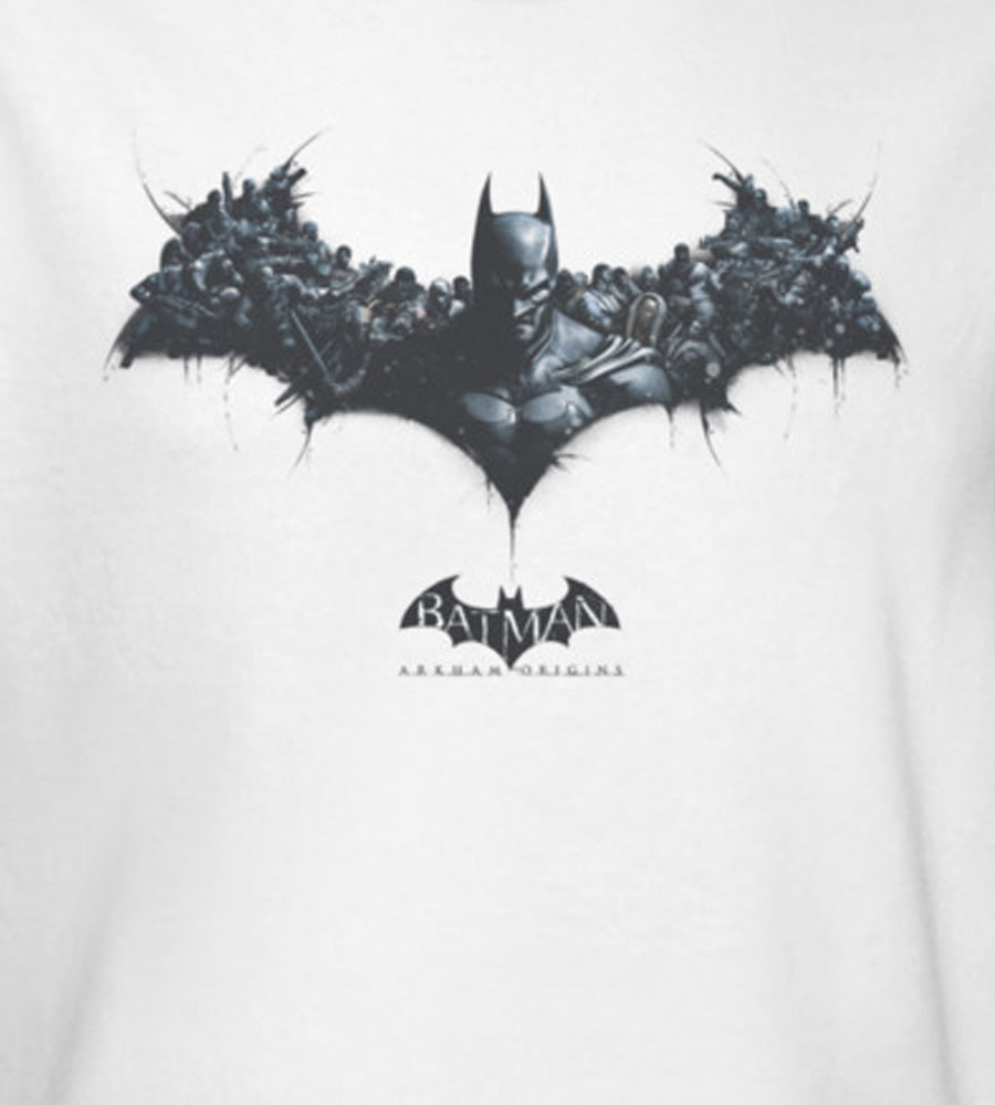 Batman dc gotham city black knight for sale online graphic tee white bao104 at