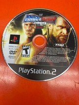 WWE SMACKDOWN VS. RAW 2009 (PS2 PLAYSTATION 2) Disc Only Tested Fast Fre... - $7.33