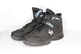 Vtg 90s Neu Converse Größe 10 Kevin Johnson Run n Slam Mid Cons React Schuhe - $164.98