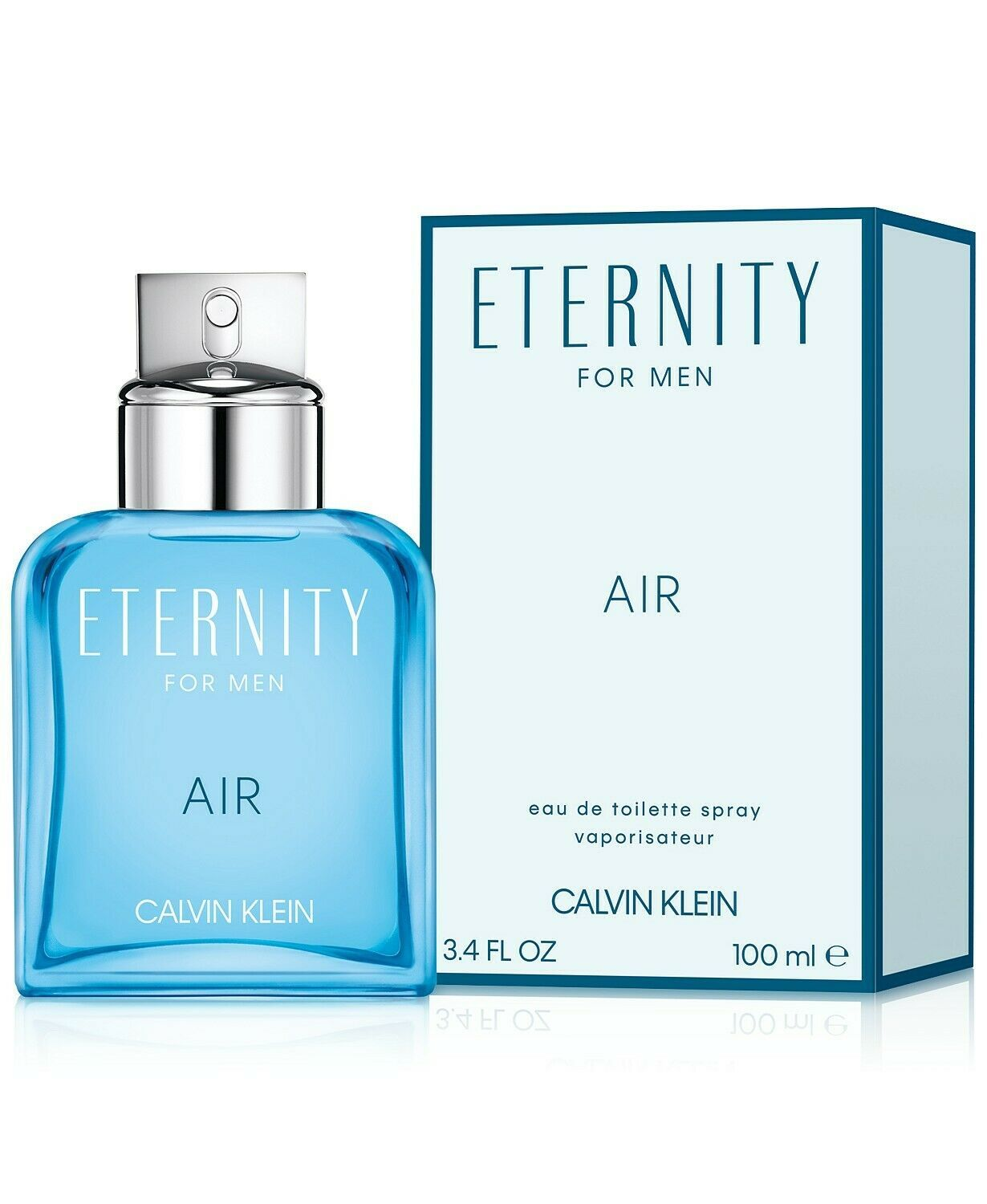 Eternity Air by Calvin Klein, 3.4 oz EDT Spray for Men