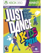 Just Dance Kids 2014 (Microsoft Xbox 360, 2013)VG - $7.39