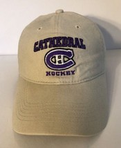Springfield Cathedral Hockey Cap Hat Adult Adjustable Ivory 100% Cotton - $10.15