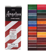 Angelus Permanent Leather Dye With Applicator 3Oz All Colors U-P-MX - $11.95