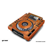 Skin Decal Sticker Wrap for Pioneer CDJ 2000 Turntable DJ Mixer Pro Audi... - $49.45