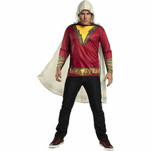 Shazam Costume T-Shirt with Cape Red - $34.98