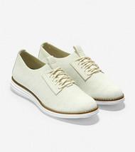 COLE HAAN ØriginalGrand Women's Ivory Stitchlite Plain Toe Oxford Shoes,... - $87.45