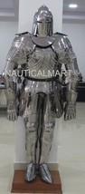 Ancient Knight Larp Suit Of Armour Wearable Halloween Costume - $999.00