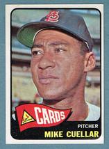 1965 Topps #337 Mike Cuellar St. Louis Cardinals Pitcher Baseball Card - $5.50