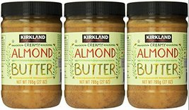 Kirkland Signature - Creamy Almond Butter, 27 Ounce - 3 Jars - $47.10