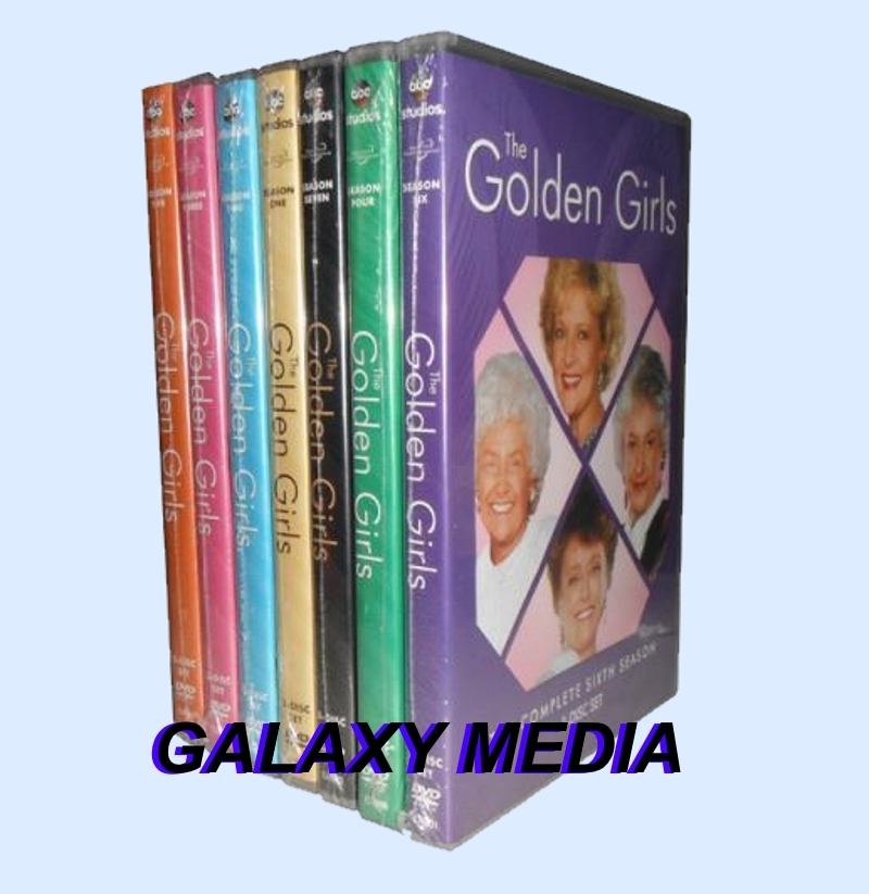 Golden girls 1 7 dvd bundle