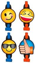 LOL Emoji Emoticons Cute Kids Birthday Party Favor Horns Blowouts - $8.17