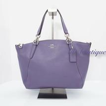 NWT Coach F28993 Small Kelsey Satchel Pebble Leather Purse Handbag Light... - £102.11 GBP