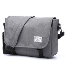 Men's Oxford Messenger Bag Man Leisure Crossbody Bag for 14in Laptops - $115.06