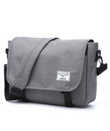 Men's Oxford Messenger Bag Man Leisure Crossbody Bag for 14in Laptops - $149.05 CAD