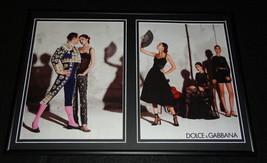 2015 Dolce & Gabbana Framed 12x18 ORIGINAL Advertising Display - $65.09