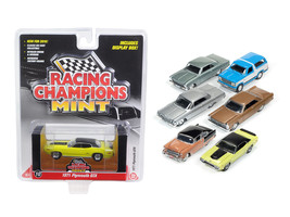 Mint Release 2 Set B Set of 6 cars 1/64 Diecast Model Cars by Racing Champions - $63.45